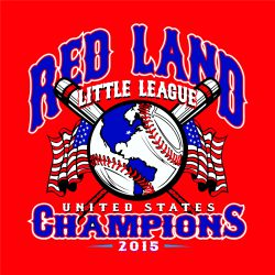 Red Land Championship - example of a line art logo
